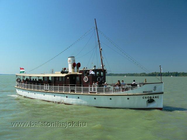 CSOBÁNC motoros személyhajó