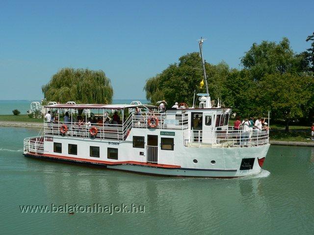ST BENEDEK motoros személyhajó