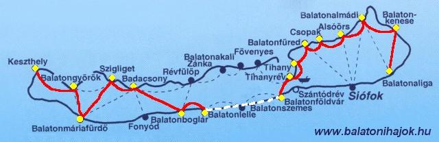 balaton vitorlás térkép Egész nap hajón a 2011 es főszezonban (programajánló) | Balatoni